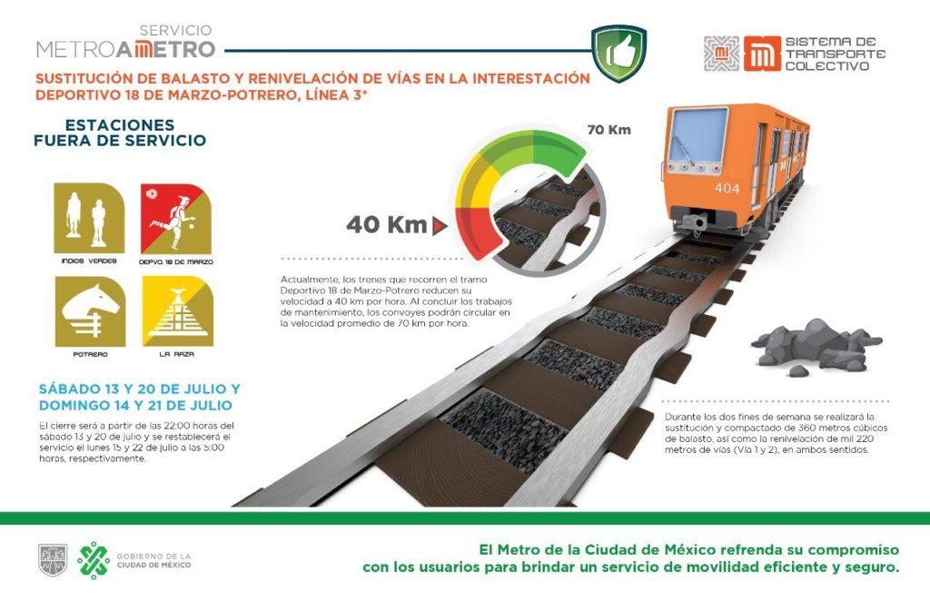 Metro indios verdes- La raza